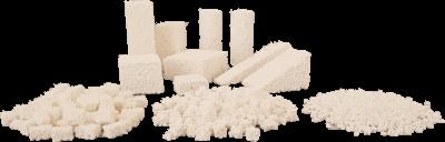 Cilindros de fosfato beta-tricálcico