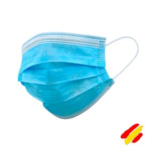 Mascarilla quirúrgica IIR homologada